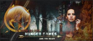 the hunger games banner by litlemusa