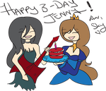 HAPPY BIRTHDAY JENNY!!!!!!!! by IceQueenRocks