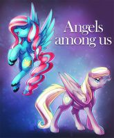 Angels among us commission by ShinePawPony