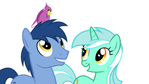 Noteworthy and Lyra by DecPrincess