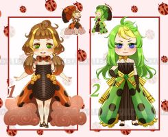 Bug Ladies [Auction][CLOSED] by lexadoptables