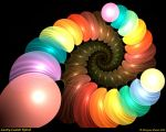 Candy Coated Spiral by Alterren