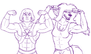 Flexing by Cavity-Sam