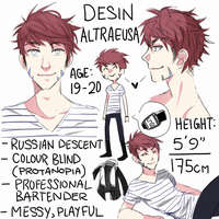 OC: Desin by Bootsii