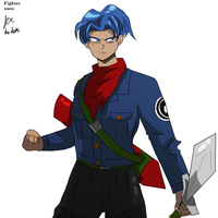 Dragon Ball Super Trunks by fighterxaos
