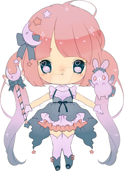 magical moon adoptable by Hacuubii