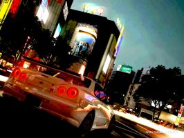 Nissan Skyline GTR R34 by pete7868