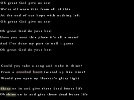 80. Oh Great God, Give Us Rest by Remedyxisxcoming