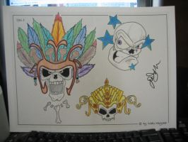 Tattoo flash 8 by 44anarchy44