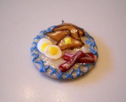 Breakfast Pendant 2 by SirIsaac