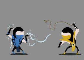 Mortal Kombat by AdCe