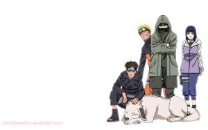 Naruto, Team 8 desktop1440x900 by JointOperation