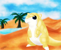 Sandshrew | Sand by Ro-Arts