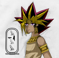 Pharaoh Atemu by KiaCookie