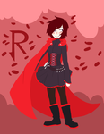 Red like roses fills my dreams by GravelPudding
