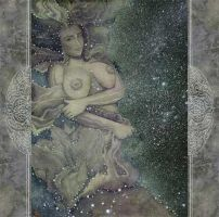 Pillars of Creation Two by PearlWhitecrow