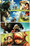 Sky Pirates Issue 1 Page by -seed-