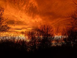 8 Dec Sunset From My House 028 by SrTw
