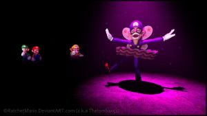 GM - WALUIGI TIME!!!!! by RatchetMario