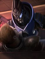 don't piss garrus off by Sythgara