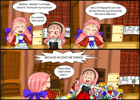 Harvest Moon comic: MORE gifts! by purplemagechan