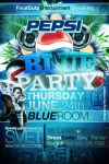 BLUE PARTY PEPSI FLYER by V1sualPoetry