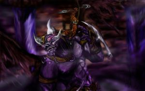 primal warrior vs YK'lagor by l3nbak
