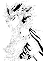 Yugioh Pharaoh Atem Sketch by Claire-Aegis-Faust