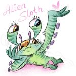Alien Sloth by Kethavel