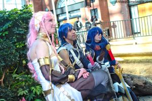 Katsucon 2015 - Fiery Family(PS) 11 by VideoGameStupid