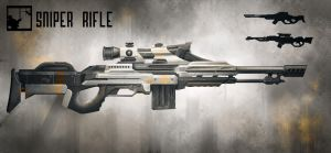 Sniper Rifle by laesir