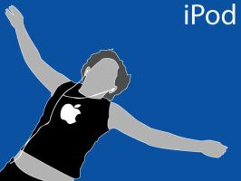 iPod ad by stevenapex