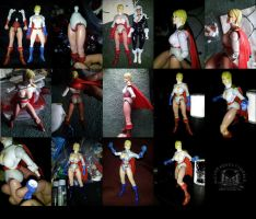 Custom Power Girl Six Inch Action Figure  2 of 2 by ayelid