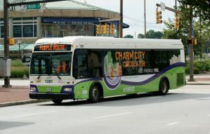 Charm City Circulator Bus 1201 by JamesT4