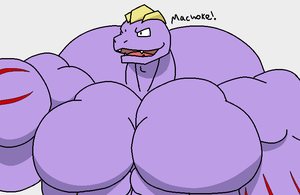 machoke bust by MamaLuigi7
