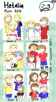 Hetalia Euro 2016 by alindicollection