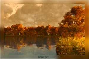 Autumn Lake by MichelBerlin