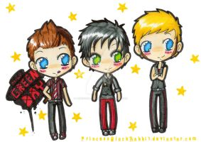 mini GreenDay by PrincessBlackRabbit