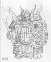 Chaos Dwarf Immortal by KnightInFlames