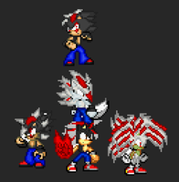 .:Verto The HedgeWolf Generation:. by SuperSonic124TH