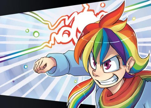 Rainbow SMASHING by UC77