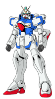 Victory Gundam - Version J by Hazardmachine