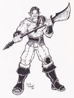 Archetype Orc Barbarian 1 by NickT