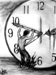 Time Is Running Out by jellyfeve