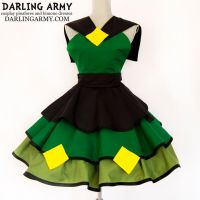 Peridot Steven Universe Cosplay Pinafore by DarlingArmy