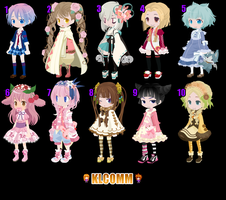 FREE ADOPTS (10/10) CLOSED by Klcomm