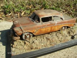 56 chevy delray by vash68