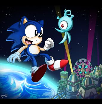 Sonic Colours : We can relate by gen8