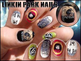 Linkin Park nails 3 by Ninails