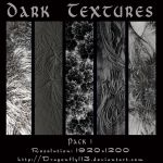 Dark Textures Pack 1 by BFstock